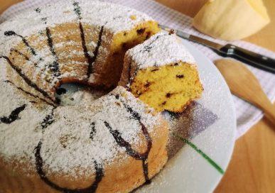 ciambella zucca amaretti cioccolato